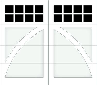DB08S - Single Door