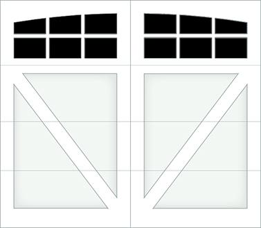 DV06A - Single Door Single Arch