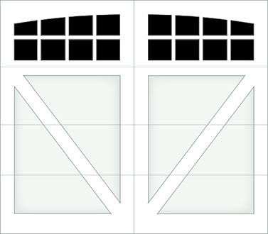 DV08A - Single Door Single Arch