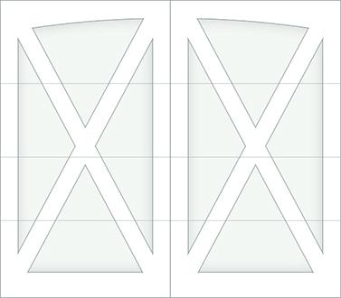 DX00A - Single Door Single Arch