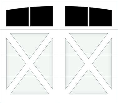 DX02A - Single Door Single Arch