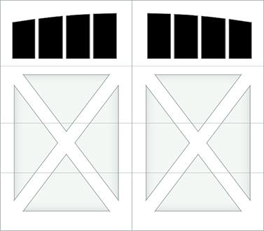DX04A - Single Door Single Arch