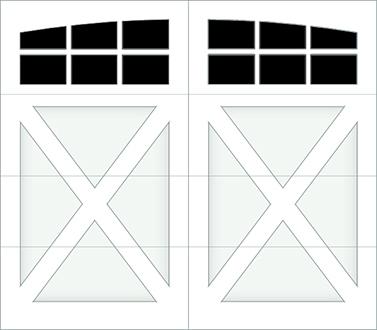DX06A - Single Door Single Arch